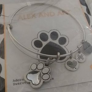 "ALEX AND ANI ""PRINTS OF LOVE II"" BANGLE BNWT!!"